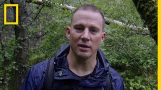 Channing Tatum Makes Fire | Running Wild With Bear Grylls