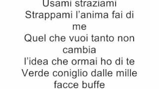Negramaro-Mentre tutto scorre (lyrics)
