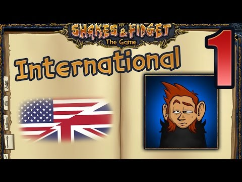 SFGame W1 Ep. 1 ★ Welcome to the International Server ★ Shakes & Fidget in English