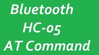 Налаштування з HC-05 Bluetooth модуль з АТ командами для Arduino поміняти ім'я і пароль