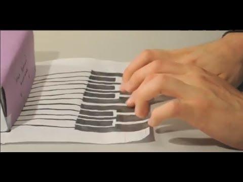 DIY Paper Circuit Project: Draw Midi