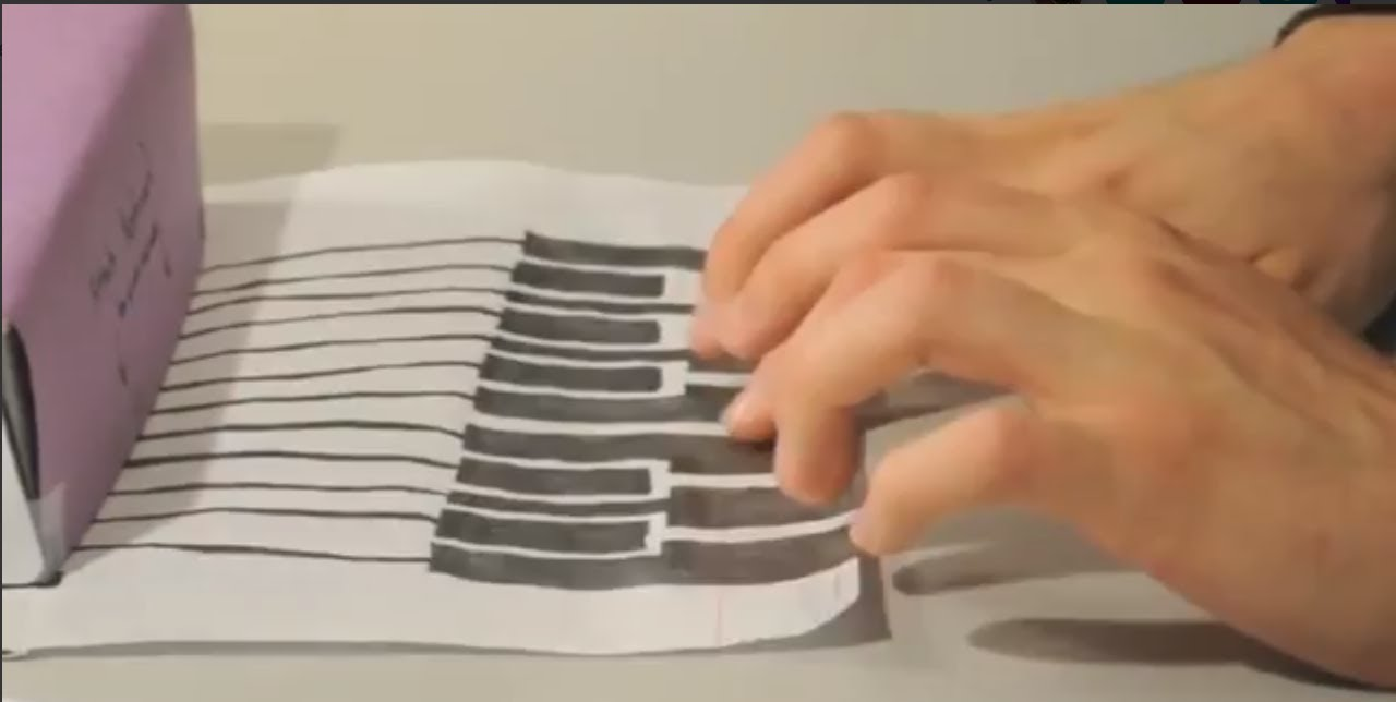 DIY Paper Circuit Project: Draw Midi - YouTube