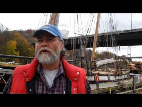 Hurricane Sandy floods Hudson River Maritime Museum in Kingston NY
