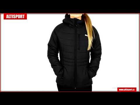dámská bunda puma warmcell padded jacket 58003901 puma black