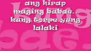 Repeat youtube video pangarap lang kita lyrics-parokya ni edgar