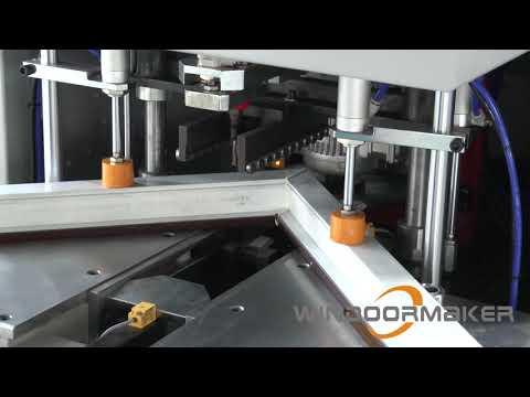 PVC Window Machine CNC Corner Cleaning Machine