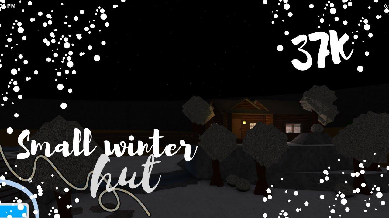 Download Bloxburg: Small Winter Hut (37k)