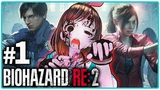 【バイオハザードRE:2】#1 クレア編の実況に挑戦!久々のホラーゲームの長編シリーズだ!【Resident Evil2】