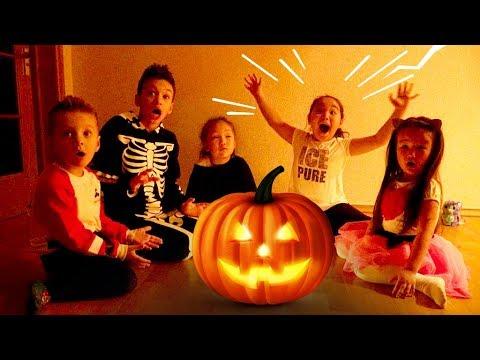 Halloween story!🎃 Аминка, Адёка и Boys and TOYS вызвали злых духов!Самый страшный Хэллоуин