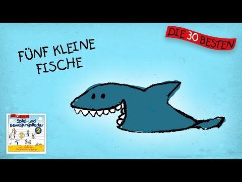 Fünf kleine Fische - Die besten Spiel - und Bewegungslieder    Kinderlieder