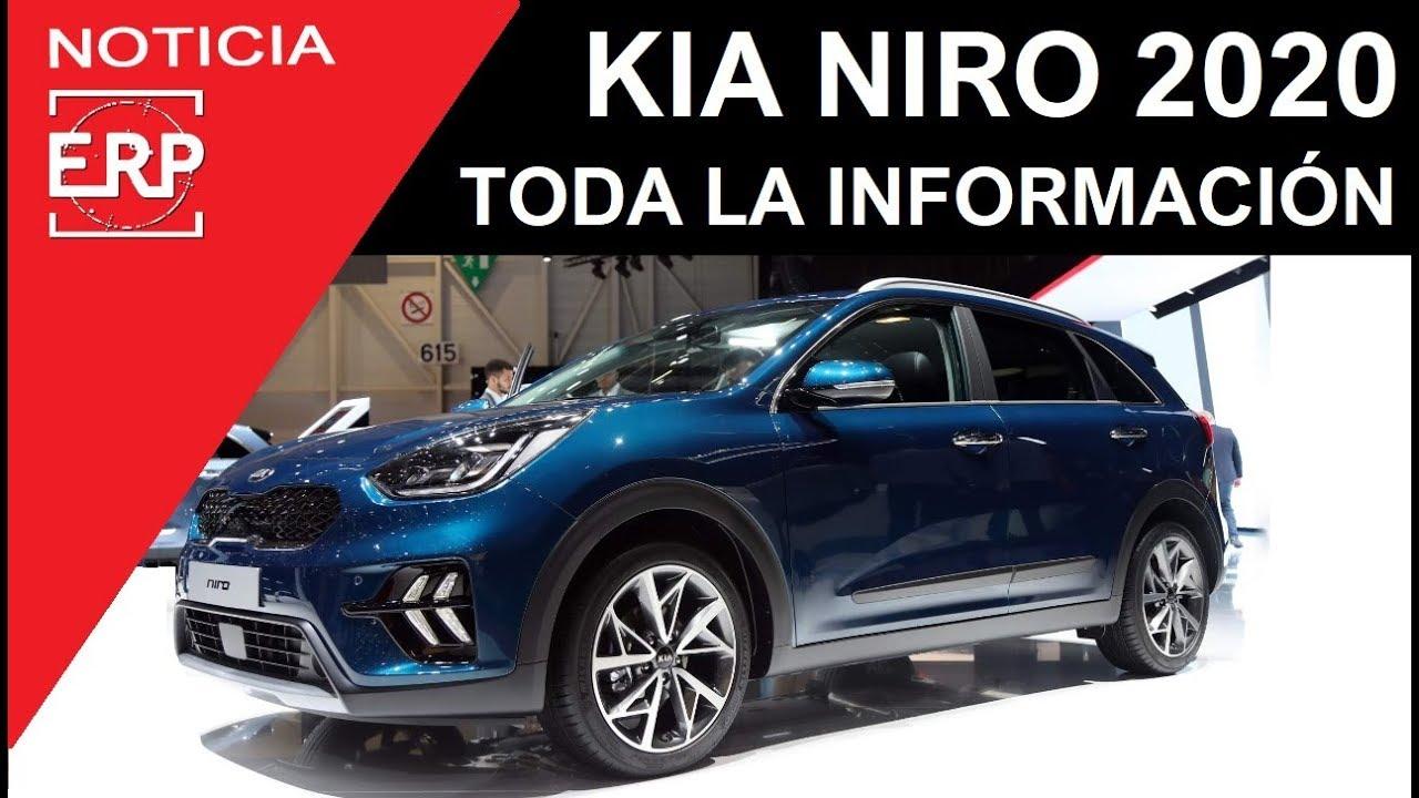 Kia Niro Facelift 2020 Toda La Informacion Youtube