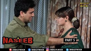 Hindi Movies 2020 | Naseeb Part 5 | Govinda Movies | Mamta Kulkarni | Kader Khan | Action Movies