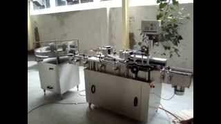 Sticker labeling machine for Allout bottles, Bottle Self adhesive labeling machine