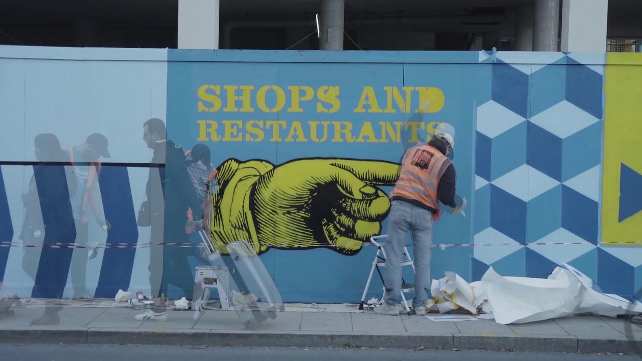 Stratford Original Mural Stratford High Street