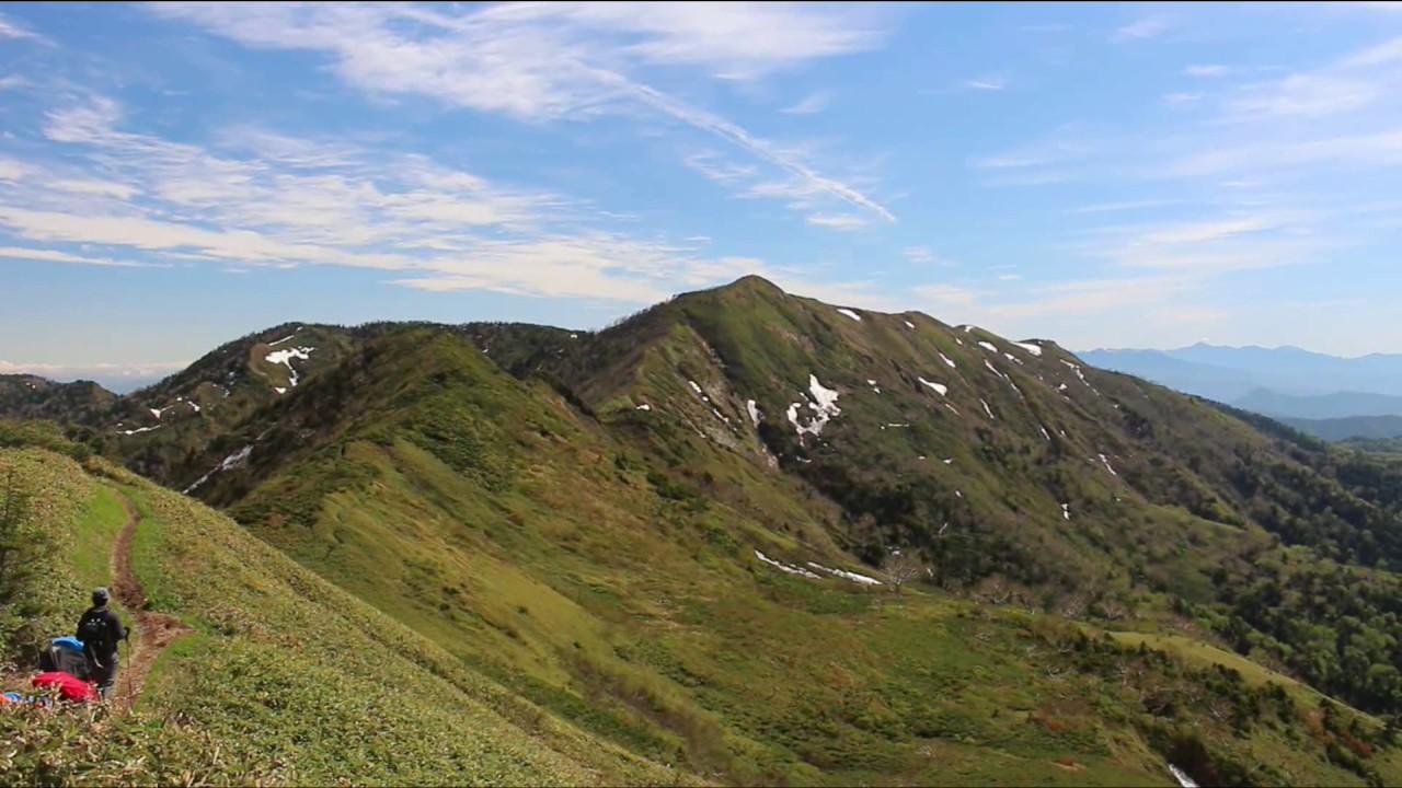 白砂山と野反湖☆ - YouTube