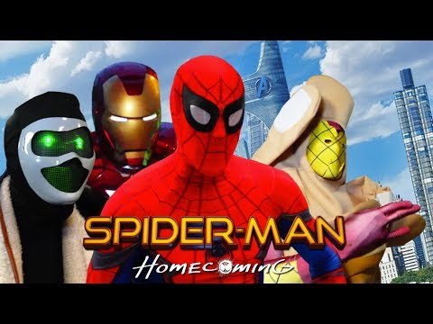 SPIDER-MAN HOMECOMING PARODY! Part 2 of 2 Funny NSFW Marvel Spoof