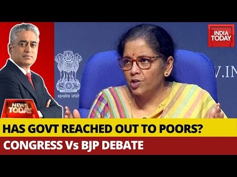 Has The Modi Govt Finally Reached Out To Poor? | News Today With Rajdeep