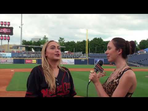 Brandi Cyrus discusses the City of Hope Celebrity Softball Game