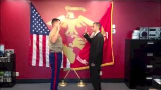Anders Ibsen, United States Marine Corps Oath - September 11, 2013