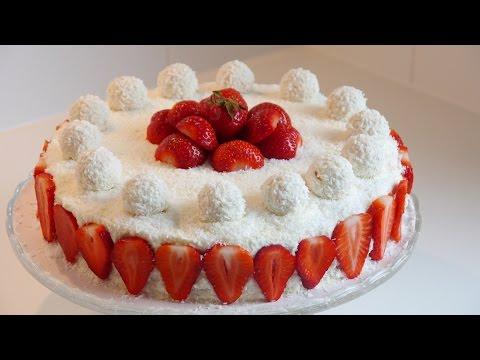 Çilekli Yaş Pasta Tarifi | Kolay ve Süper Lezzetli Yaş Pasta (Püf Noktalarıyla)