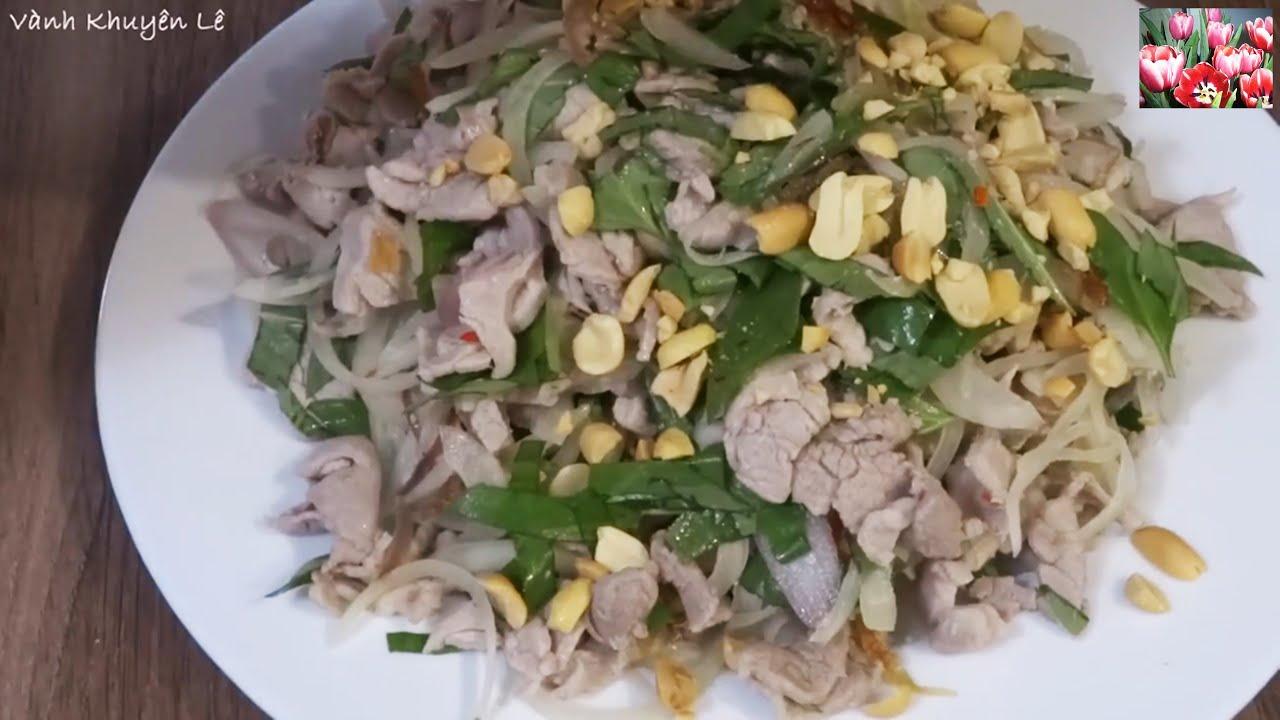 THỊT TÁI CHANH – Bí quyết làm Gỏi thơm ngon – Cách rang Đậu phộng Airfryer by Vanh Khuyen