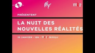 Nuit des Idées 2018 : La Nuit des nouvelles réalités avec UniFrance et mk2