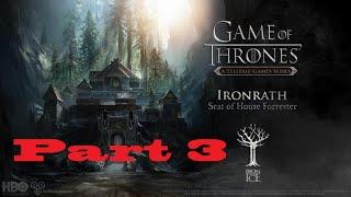 Game of Thrones TellTale Episode 1 Part 3