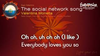 "Valentina Monetta - ""The Social Network Song"" (San Marino)"