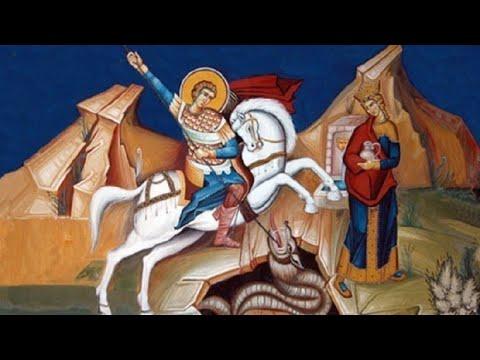 Тропар празника: Свети великомученик и победоносац Георгије