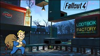 A Fully Automated Lootbox Factory 🛄 Fallout 4 No Mods Shop Class