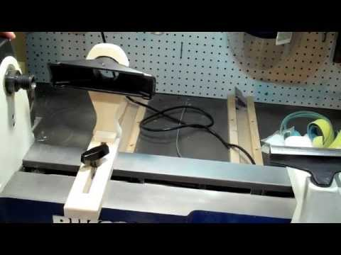 Do-it-yourself Wood lathe dust collector