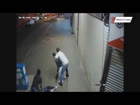 WATCH: Security chase