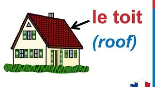 French Lesson 81 - Rooms in the house - Les pièces de la maison - household vocabulary