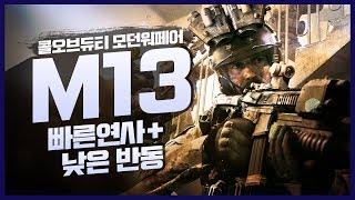 콜오브듀티 모던워페어 - M13 (SIG MCX) 전술…