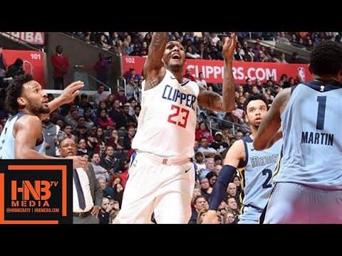 LA Clippers vs Memphis Grizzlies Full Game Highlights / Jan 2 / 2017-18 NBA Season