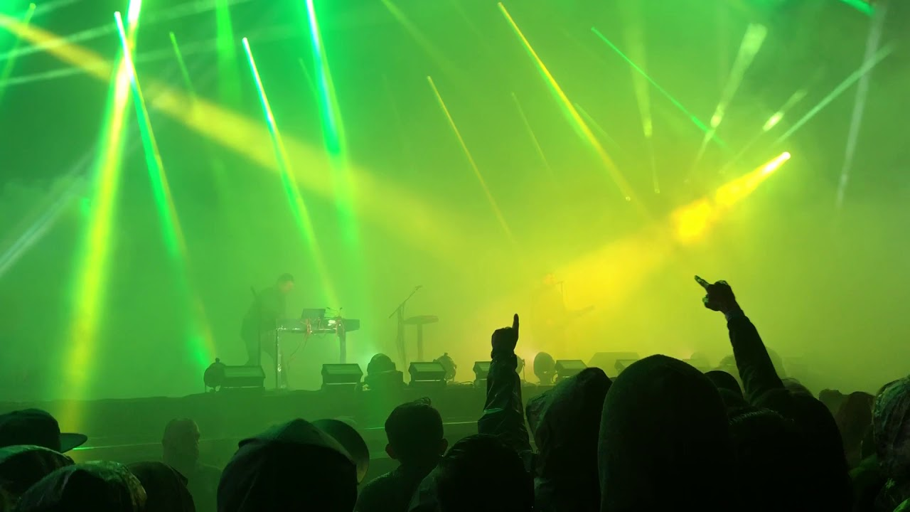 Nine Inch Nails - Reptile in the Rain - 12/16/2017 Houston, Day For ...