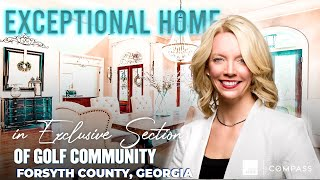 COLE TEAM Introduces: 1623 Hutton Place, Cumming, GA 30041 Located in Windermere Golf & Country Club
