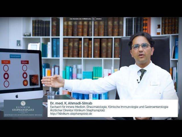 Formen des Raynaud-Syndroms und wo tritt das sekundäre Raynaud-Syndrom auf? (Dr. K. Ahmadi-Simab)
