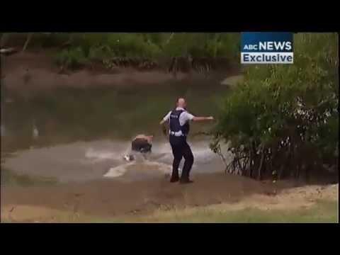 Police Catch Fugitive - Footage - Queensland (2013)