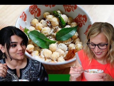 Healthy Indian snack recipe: How to make sundal (chickpeas with coconut)