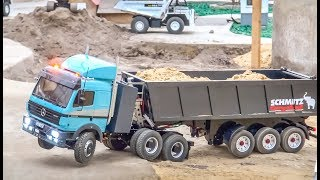 vuclip RC Trucks and Construction Machines in ACTION!