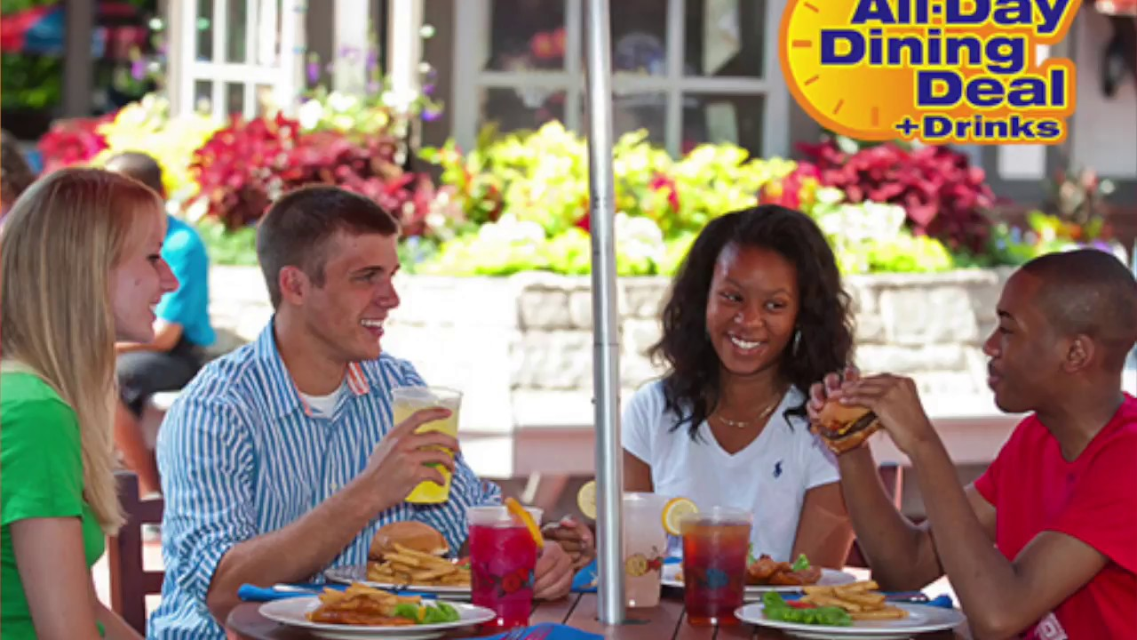 Is It Worth It Busch Gardens All Day Dining Pass Williamsburg Youtube