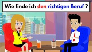 Deutsch lernen mit Dialogen | Wie finde ich den richtigen Beruf ? screenshot 5