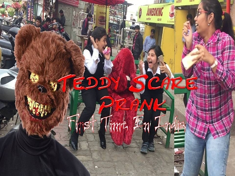#TeddyDaySpecial II Epic Teddy Scare Prank II Pranks In INDIA II First Time In India