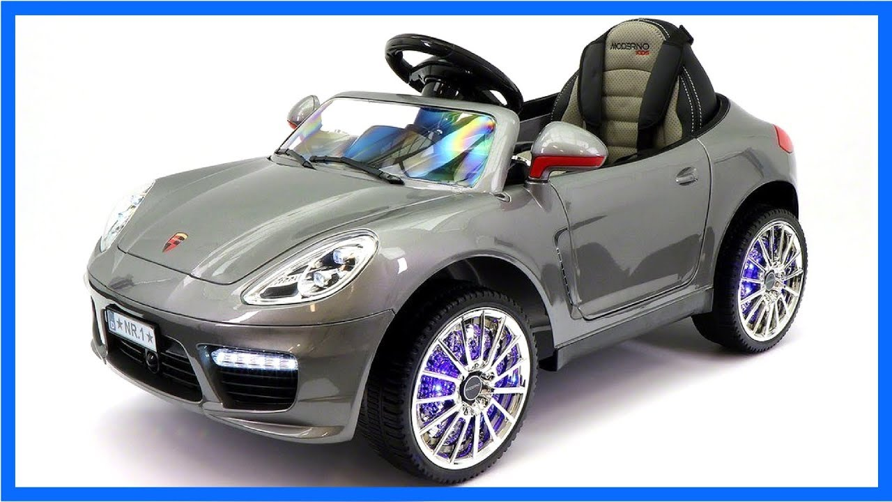 12v Porsche Boxster Style Electric Ride On Car Cars For Kids