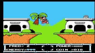 Jouons au NES en français! : Flintstones