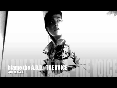 Blame it on my A.D.D. - Geo AKA the voice (official hip hop version)