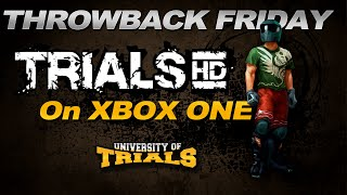 Trials HD now on Xbox One!