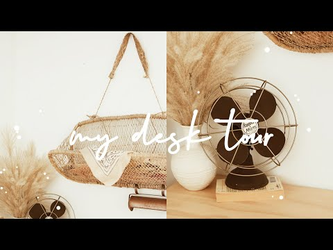 MY DESK TOUR * A Styling Video!