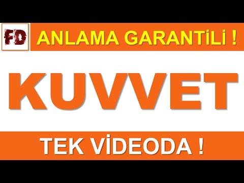 KUVVET KONU ANLATIMI [TEK VİDEODA!] - ( ANLAMA GARANTİLİ )